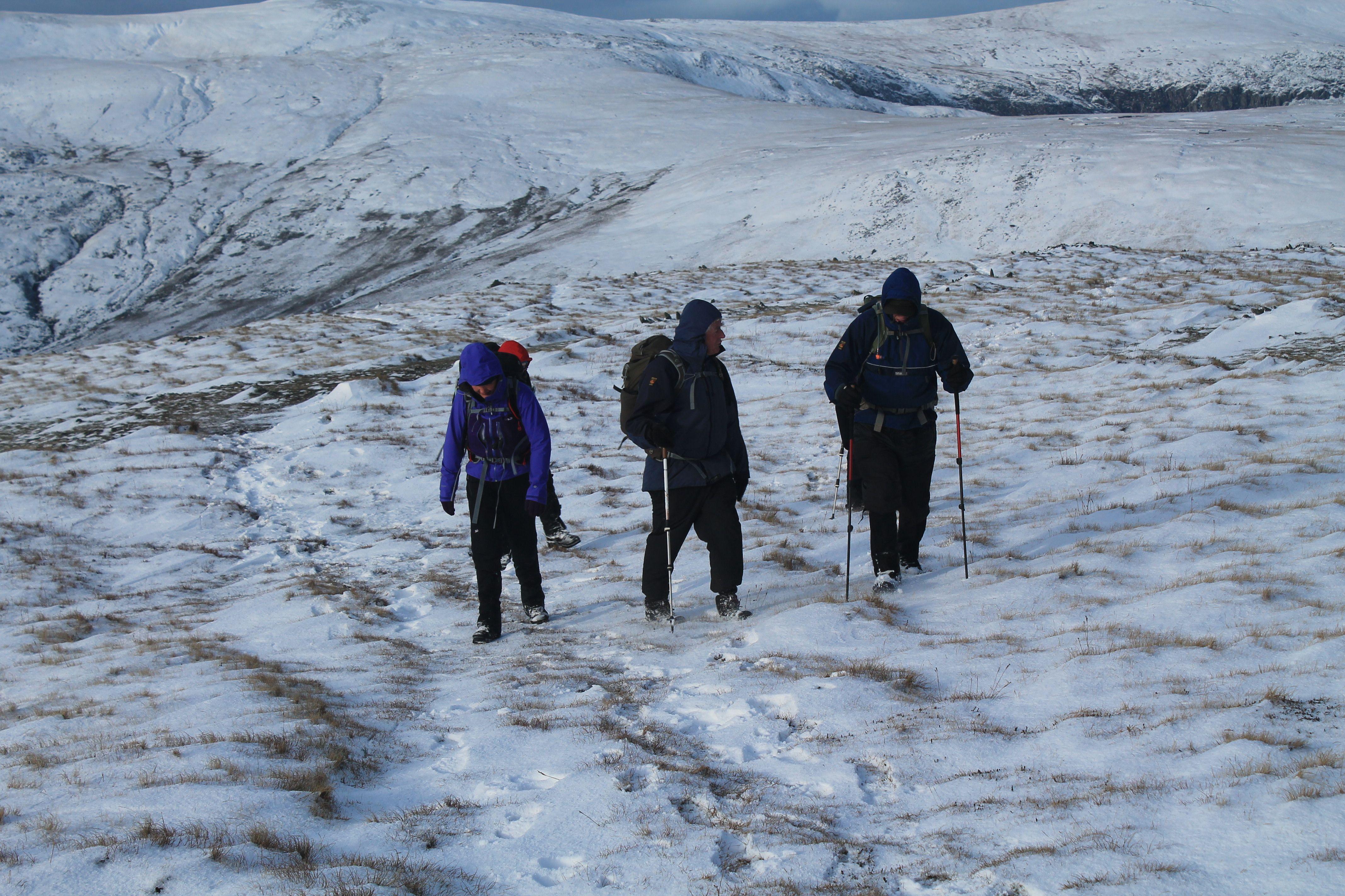 Climbing Pen Llithrig y Wrach
