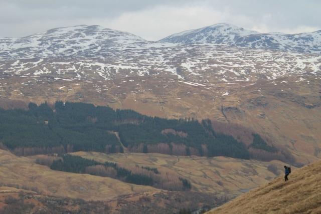 Beinn nan Imirean and Meall Glas