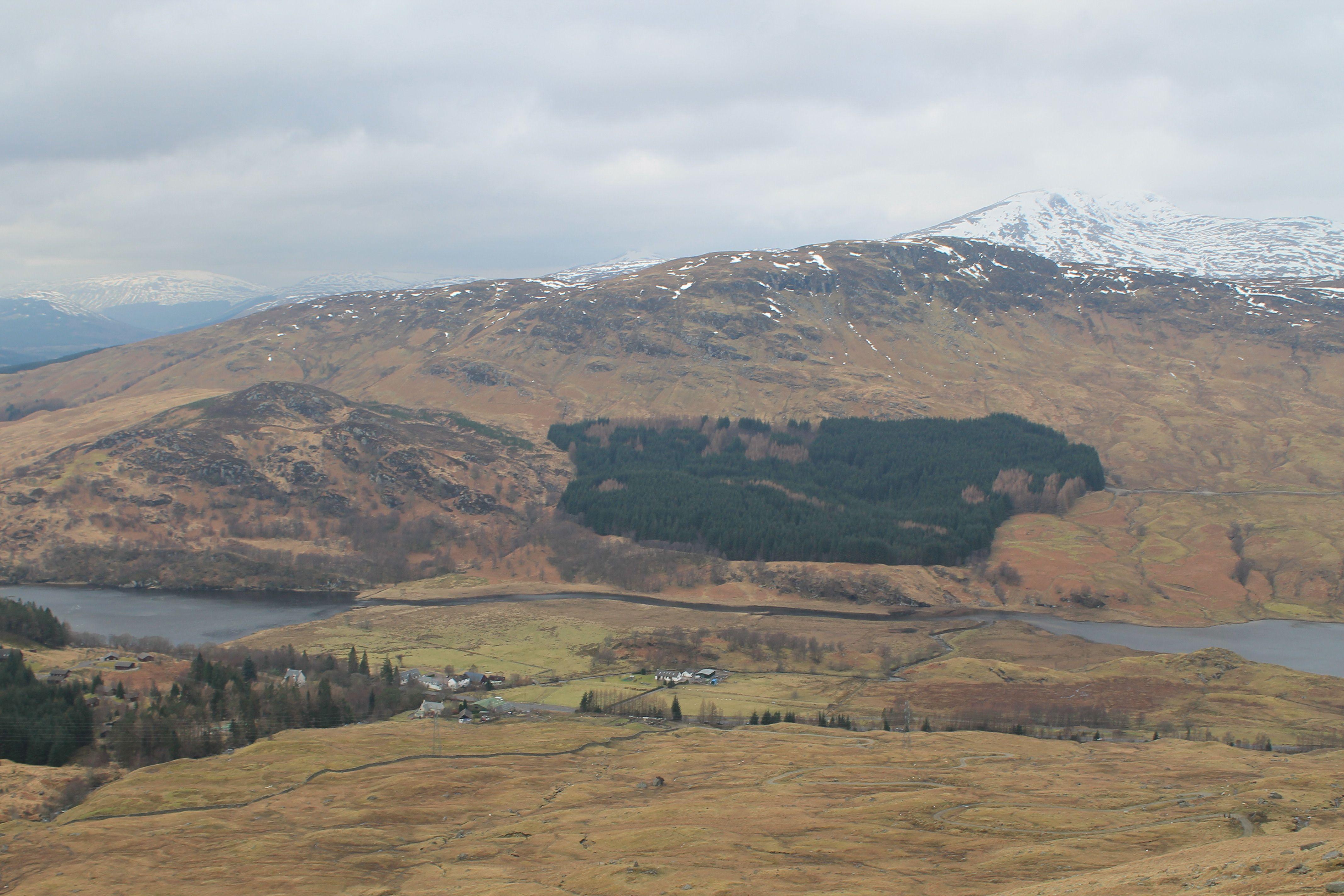 Glen Dochart from the lower slopes of Ben More