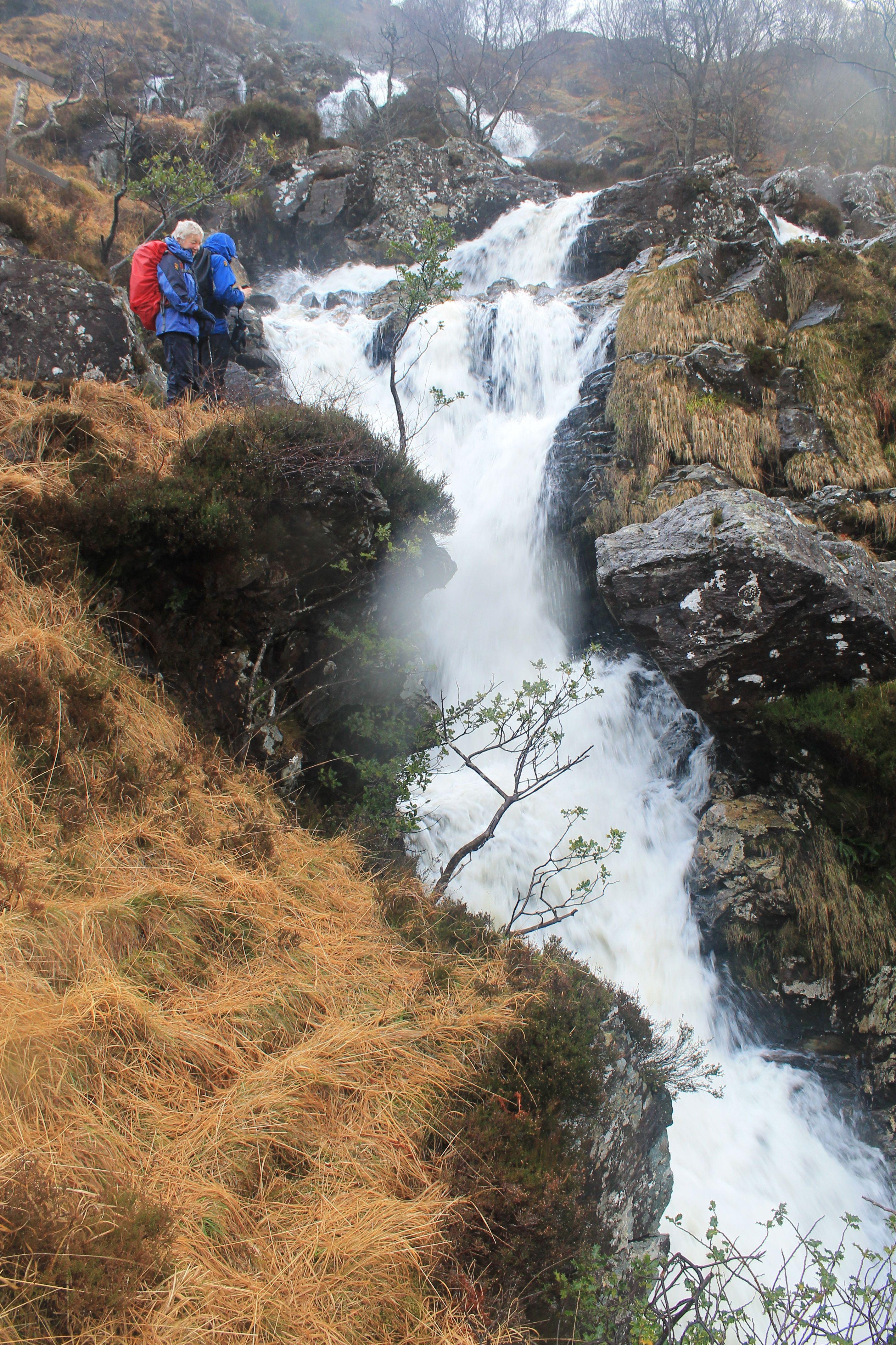 Ben Ghlas Waterfall above Inverarnan