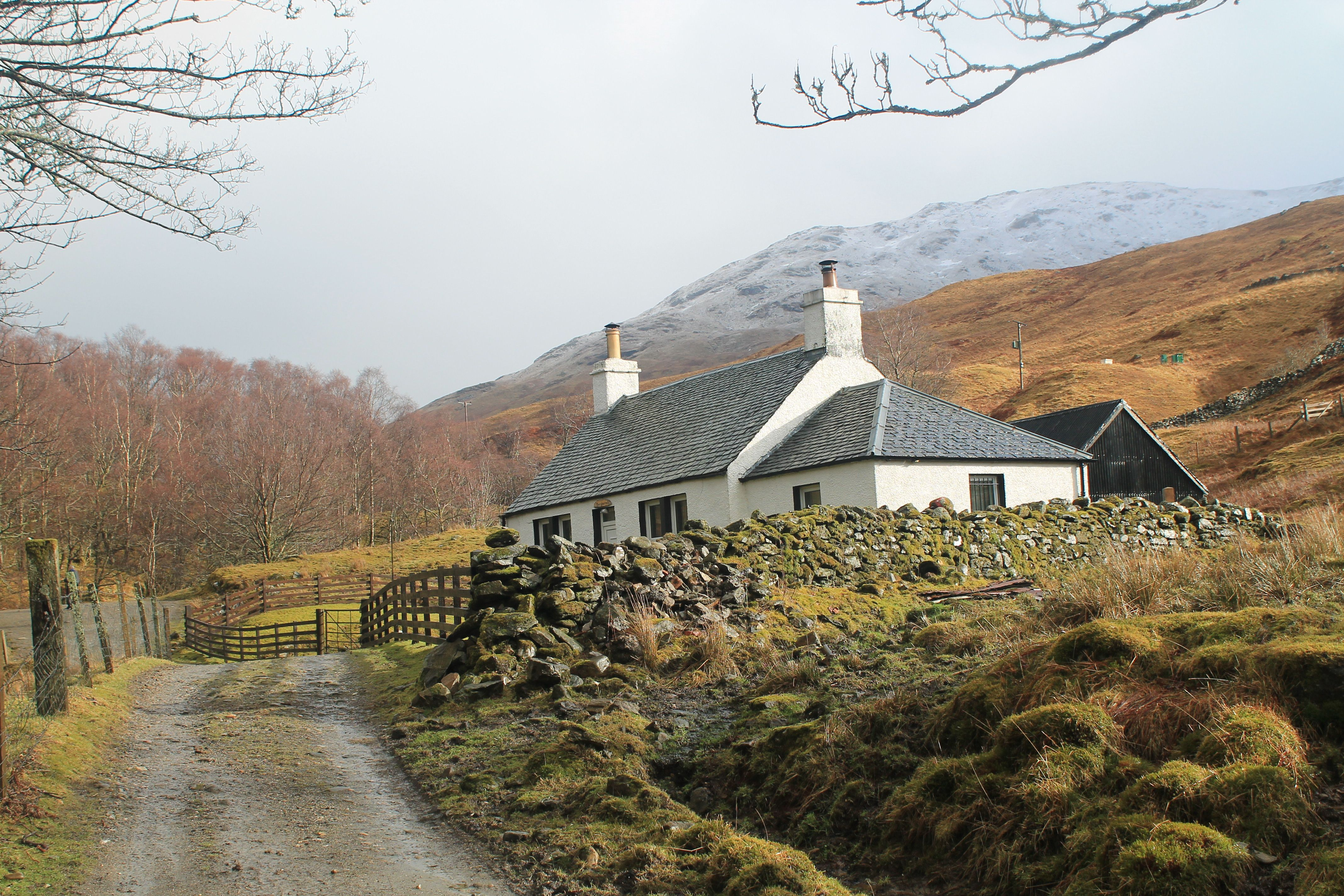 Carmyle Cottage on the West Highland Way in Glen Fallon