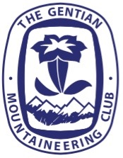 Gentian Mountaineering Club Woven Badge