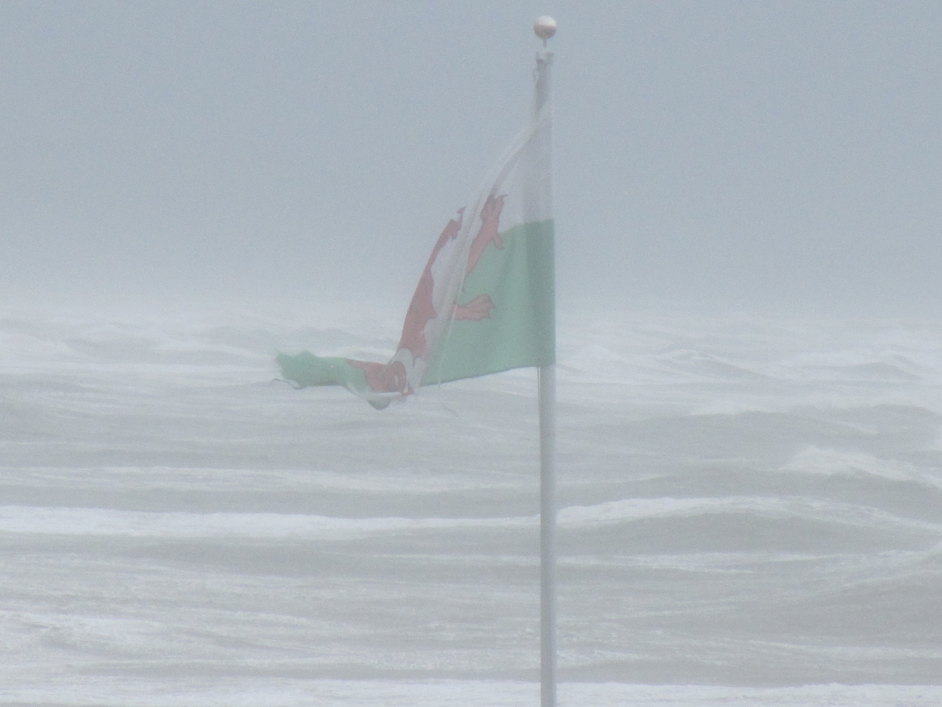Wales in a storm