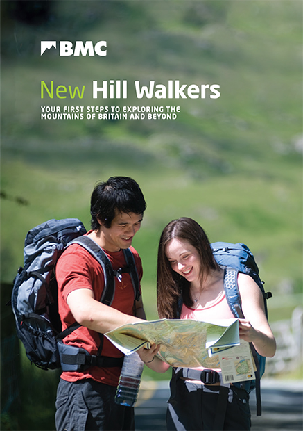 Cover of booklet for new hill walkers