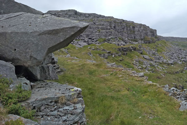 walkers on path in North Rhinogs